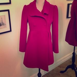 New without tags Fuchsia Peacoat