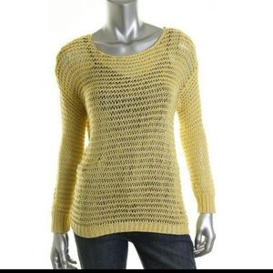 NWT -Sz S- RD Style Yellow Crochet