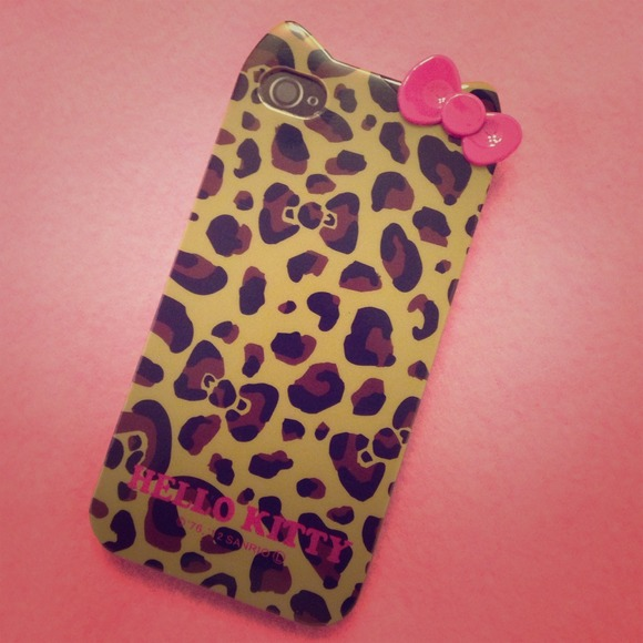 99557c212 Hello Kitty Accessories | Leopard Print Iphone Case | Poshmark