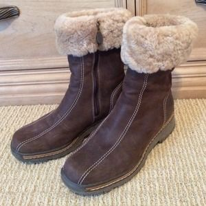 SHEARLING BLONDO BOOTS 10W WATERPROOF!