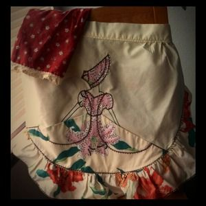 Other - Vintage 1940 Southern Bell Half Apron