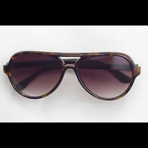 J.Crew Factory Tortoise Aviator Sunglasses