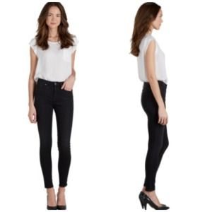 REDUCED: Joie | Black High Rise Skinny Jeans