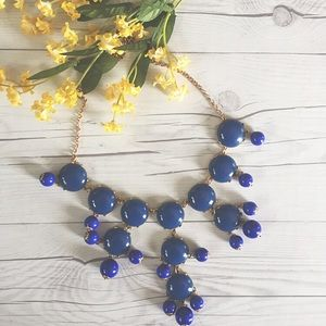 Jewelry - Royal Blue Bubble Necklace