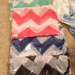 Chevron infinity scarfs! New!