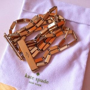 Authentic Kate spade links bracelet