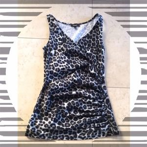 Express Tops - Express Animal Print Top