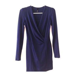 Cobalt/Navy Bodycon Dress
