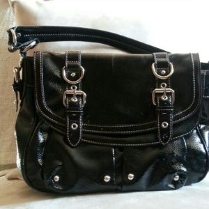 Nine West handbag,  cute patent leather!