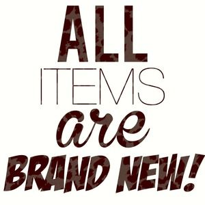 Brand new items ONLY