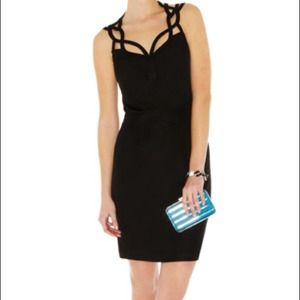 KAREN MILLEN BLACK DRESS