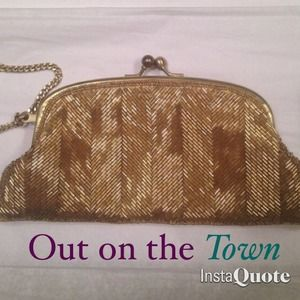 The Limited Handbags - NWT gorgeous beaded clutch