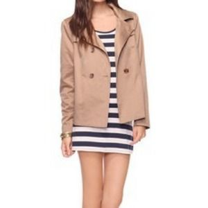 Forever 21 trench hoodie