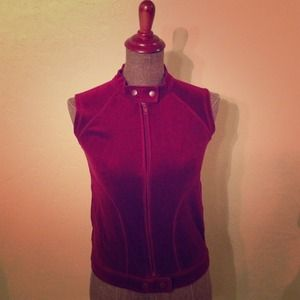 Forever 21 Outerwear - ***SOLD*** The Burgundy Vest
