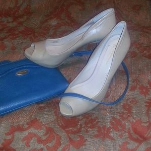 BCBG Nude Heels Size 8.5