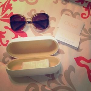 Chloe sunglasses! Brand new never worn!