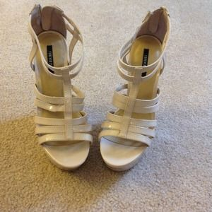 5857948240a5a Forever 21 Shoes - Nude wedges❌sold on vinted❌❌❌