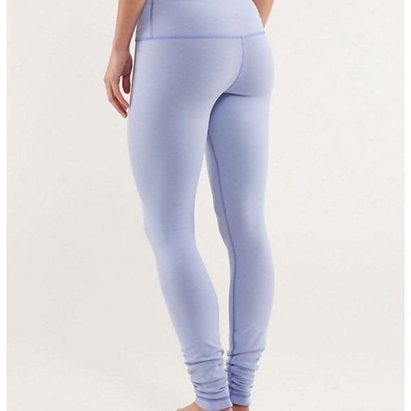 6601f8840f lululemon athletica Pants | Light Purple Lulu Lemons | Poshmark