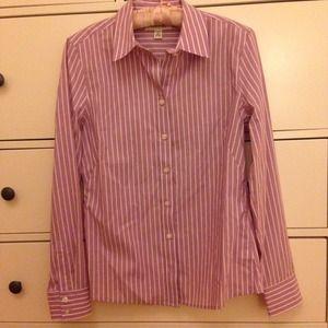Banana republic fitted shirt (purple)