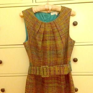 Trina Turk tweed dress
