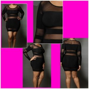 🎉PRICE DROP!!!🎉 Plus Size Mesh Insert Mini