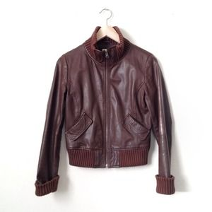 Frenchi Jackets & Coats - BUNDLE -- leather bomber and fringe top 1