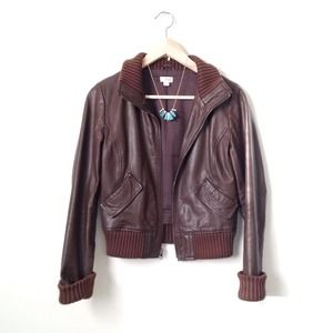 Frenchi Jackets & Coats - BUNDLE -- leather bomber and fringe top 2
