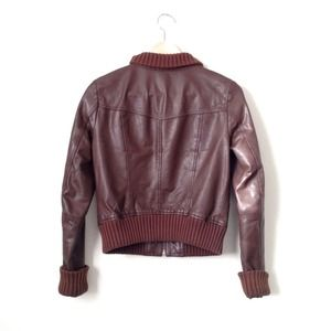 Frenchi Jackets & Coats - BUNDLE -- leather bomber and fringe top 3