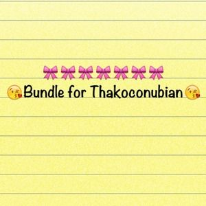 Accessories - Bundle for Thakoconubian😘😘