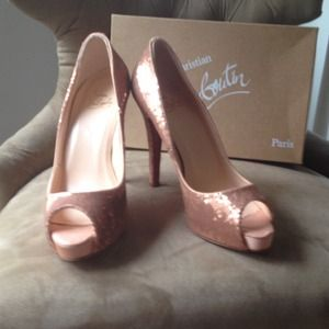 100% authentic new Christian Louboutins