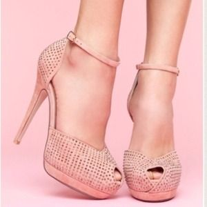 Jeffrey Campbell Shoes - Milder Pink Suede