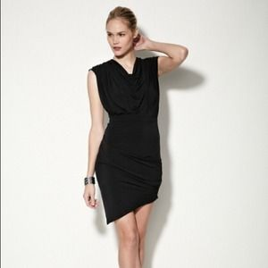 Jersey Draped Cowl Dress Factory Erik Hart XS