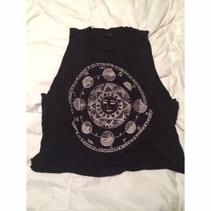 Brandy melville Horoscope Kate tank