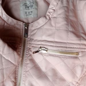 Zara Jackets & Coats - 🚫SOLD🌟HP🌟Quilted Pink Faux Leather Jacket 2