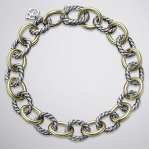 💯 Authentic David Yurman Oval Link Bracelet