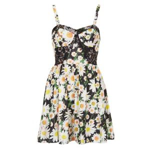 Topshop Dresses & Skirts - BRAND NEW Topshop Petite Photo Daisy Corset Tunic