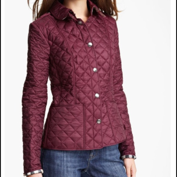 41% off Burberry Outerwear - Burberry Brit Kencott Patch Pocket ... : burberry brit kencott quilted jacket - Adamdwight.com