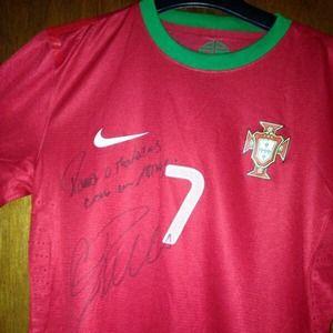 Cristiano Ronaldo's Portugal soccer Jersey