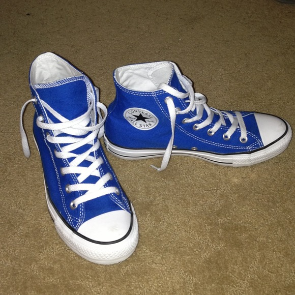 Converse Shoes | Chuck Taylor High Tops In Snorkel Blue ...