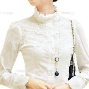 Tops - Brand new work victorian long sleeve!