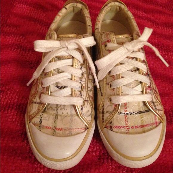 cd82a5d4809 Coach Shoes - Coach Barrett graffiti sneakers Size 5.5
