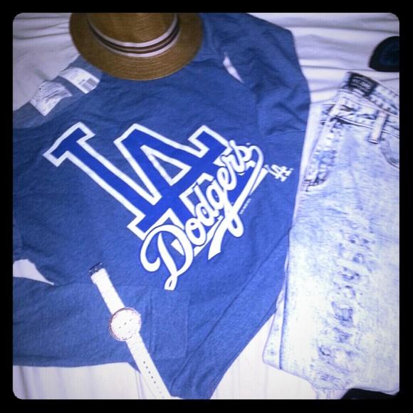 NEW LA Dodgers SweatShirt Forever21 Mlb Baseball NWT