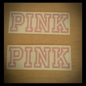 Other - Victoria Secret Pink Decal💝