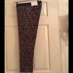 Leopard Printed Zoe Ankle Pants