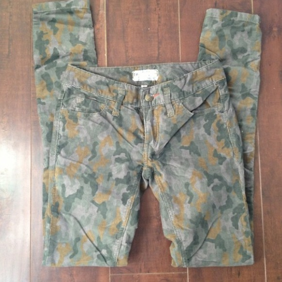 Free People - Free People Camo Corduroy Pant from Marivic's closet ...