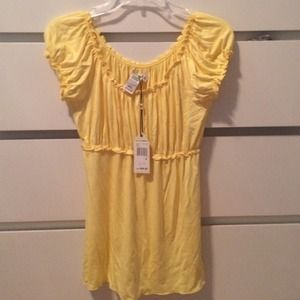 Sophie Max Tops - Yellow top