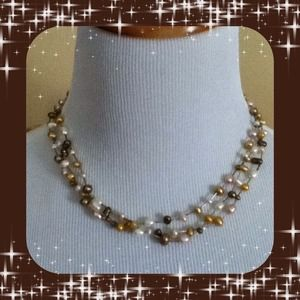 ✨Genuine Freshwater Pearl Necklace✨