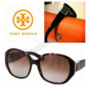 Tory Burch Accessories - Tory Burch Polarized Tortoise Sunglasses TY7043