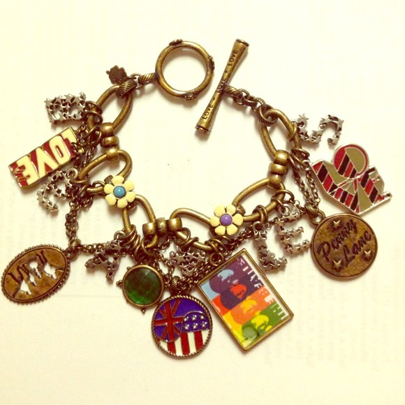 Beatles Charm Bracelet: Beatles Charm Bracelet