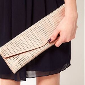 Ted baker pink sequins clutch